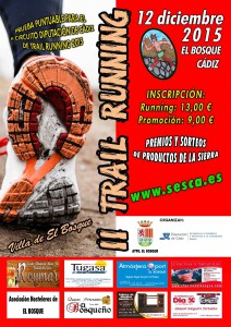 Prueba II Trail Running El Bosque Cadiz